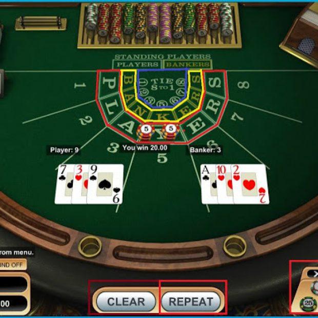 Cách chơi 7UP Baccarat